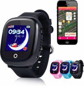 GPS tracker horloge kind junior AQUA Wifi Camera zwart [IP 67 Waterdicht]