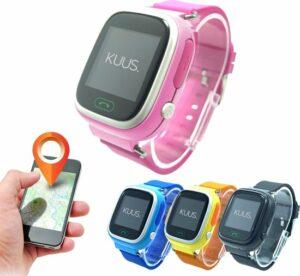 KUUS. GPS horloge kind, smartwatch voor kinderen met GPS tracker - Roze