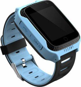 Kinder Smartwatch - Blauw - GPS - kinderen - Smartwatches - Gps tracker - Zaklamp - Inclusief simkaart