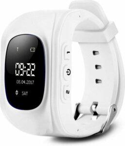 Kinder Smartwatch - Wit - GPS - Kinderen - Smartwatches - Gps tracker - Inclusief simkaart