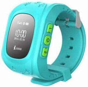 Smart Horloge voor Kinderen - GPS Tracker voor Kinderen - Waterdicht scherm- 2.50 cm Display - Hemelsblauw