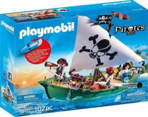 PLAYMOBIL Pirates Piratenschuit met onderwatermotor - 70151