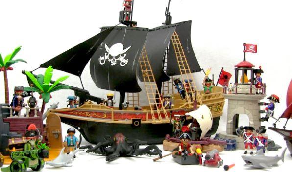 Playmobil Piratenschip