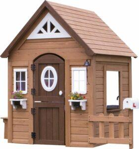 Backyard Discovery Aspen Houten Speelhuis - met Speelkeukentje, brievenbus en meer